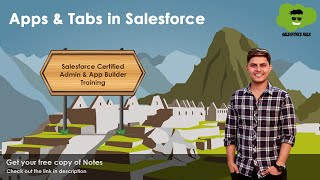 What are Apps and Tabs in Salesforce?