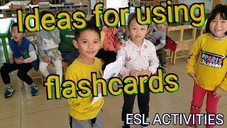 Ideas For Using Flashcards ESL Game Kindergarten
