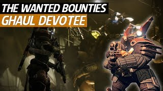 Destiny 2 Forsaken - Wanted Ghaul Devotee Location! (Spider Wanted Bounty)