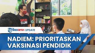 Audiensi dengan Kepala Daerah di Sumut, Mendikbud Minta Percepat Vaksinasi Pendidik: Segera PTM