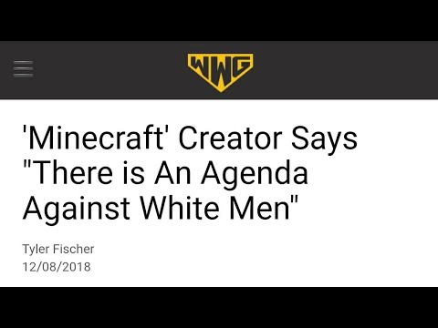 Minecraft Creator Destroys NPCs With Red Pills On Twitter