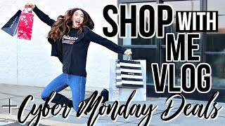 COME SHOPPING WITH ME VLOG & HAUL!