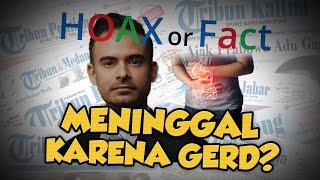 Hoax or Fact: Ashraf Sinclair Meninggal karena GERD?