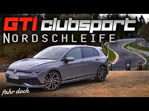 KAMPFANSAGE! VW GOLF 8 GTI Clubsport auf der Nordschleife | Test | Fahr doch