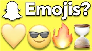 Snapchat Emojis Explained (Updated) | DefinitelyOwen