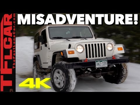 We Took our Modded Wrangler Offroad and Got SUPER STUCK: Cheap Jeep Challenge Ep.5