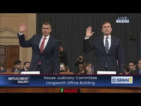 House Judiciary Committee Impeachment Inquiry Evidence Hearing
