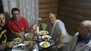 Отчет о рыбалке на дедушкином хуторе