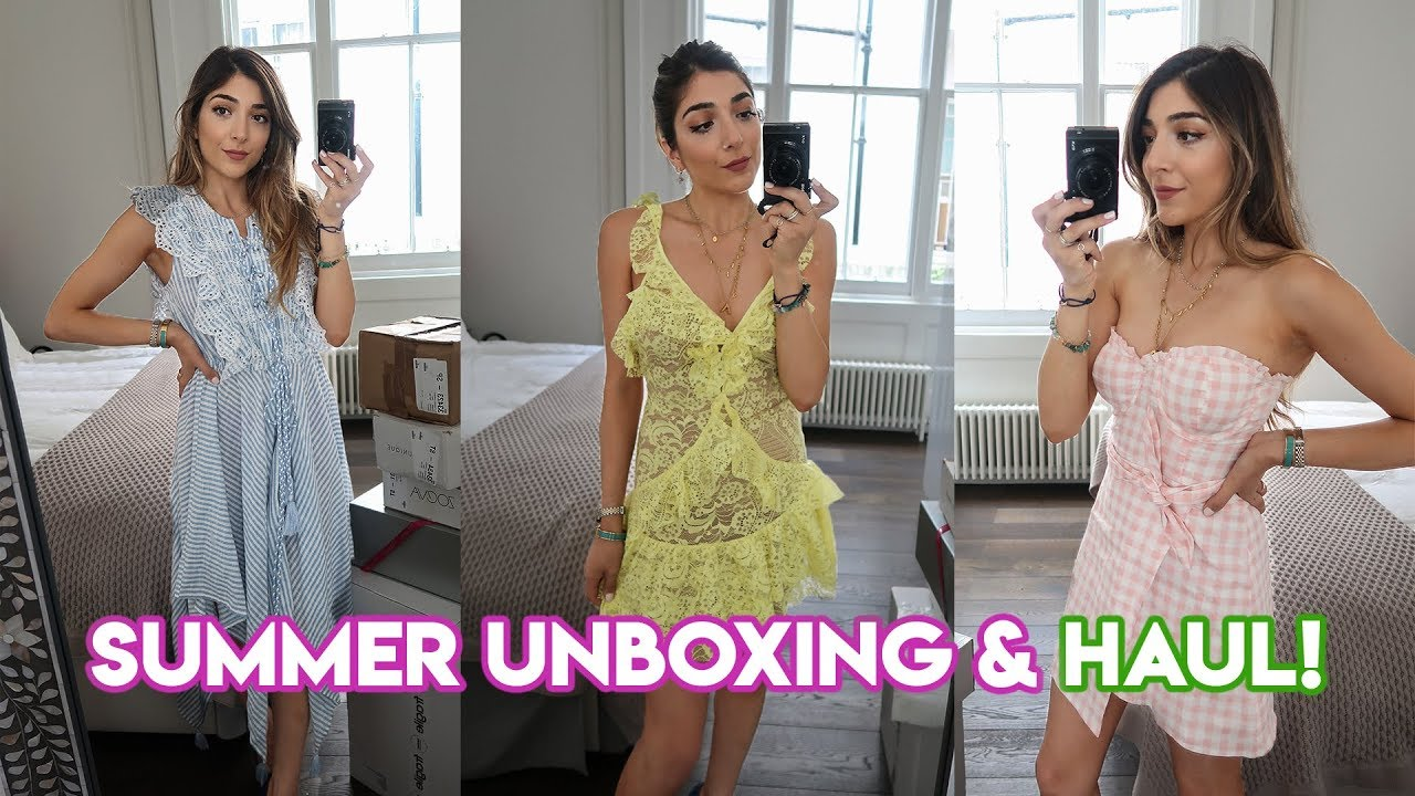 SUMMER HAUL, UNBOXING & TRY ON    Amelia Liana