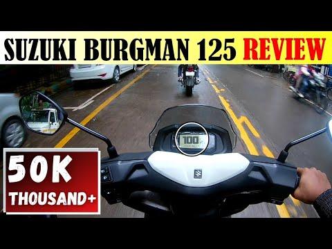 GENUINE & UNCUT 1st Ride REVIEW | Suzuki Burgman Street 125 | Power Scooter