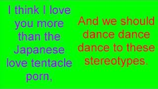 the stereotype song (Your Favorite Martian) lyrics