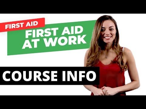 First Aid at Work Certificate - Course Information   Get Licensed ...