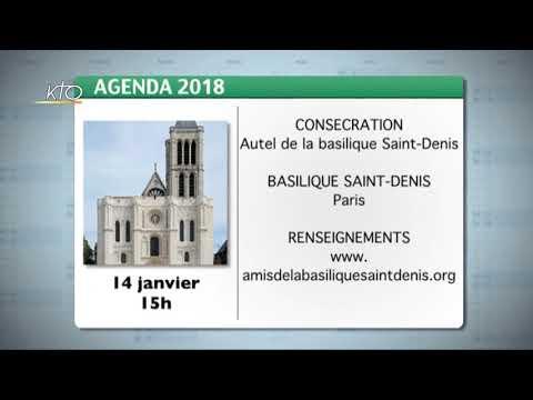 Agenda du 12 janvier 2018