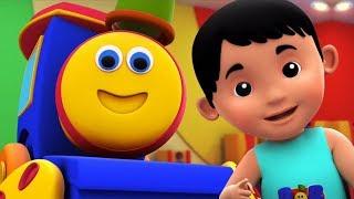 Bob o trem vídeos e músicas para crianças   Rimas Infantis Pré-Escolares