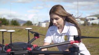 Flytrex Drone Delivery in Reykjavík, Iceland