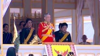 Thai Royal Motorcade ขบวนเสด็จพระราชพิธีเชิญพระบรมโกศออกพระเมรุมาศ [2/3]