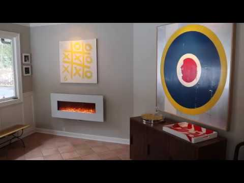 Touchstone Wall Mount Electric Fireplace Installation Guide