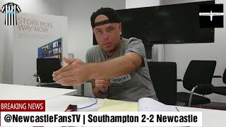 Southampton 2-2 Newcastle United | Quick thoughts