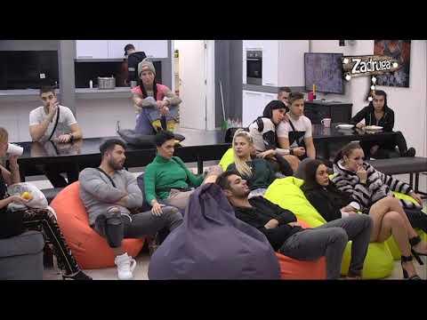 Zadruga 2 - Ukućani gledaju seriju 'Zabranjena ljubav' - 04.12.2018. (видео)