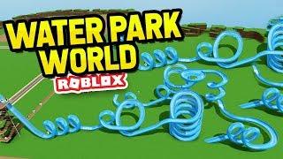 The BIGGEST MONEY Making Slide In Water Park World