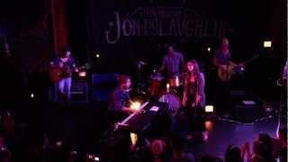 Jon McLaughlin w. Sara Bareilles - Summer Is Over, Troubadour LA 5-24-12