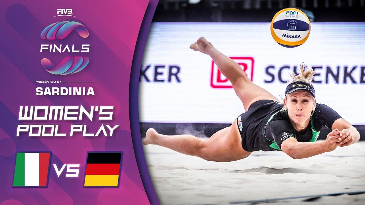 08.10.2021, 16:00 Uhr: World Tour Finals-Menegatti/Gottardi (ITA) vs Borger/Sude (GER)