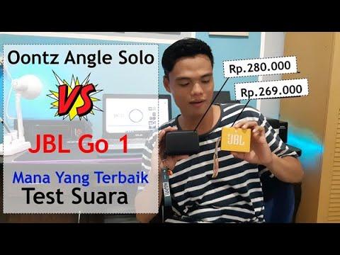 Oontz Angle Solo vs JBL Go 1 terbaru 2020