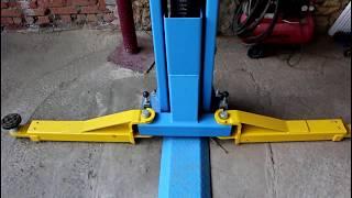 Подъемник двухстоечный OPTIMUS 4 тонны от компании AVTO-PLAN - видео