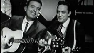 Tennessee Ernie Ford and Johnny Cash-Together!