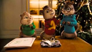 Chipmunks we wish you a merry christmas