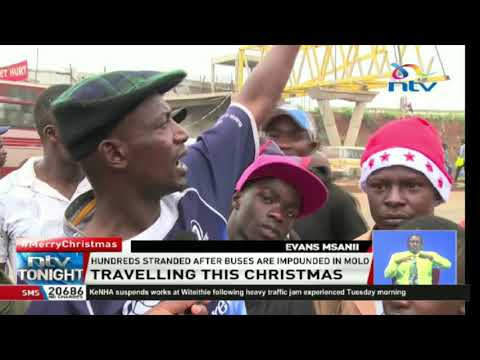 Christmas travel: Many passengers stuck in traffic, vehicles impounded