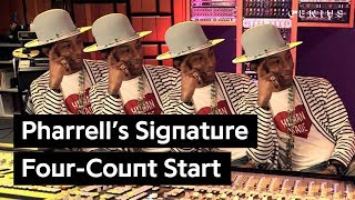 Pharrell's Signature Four-Count Start