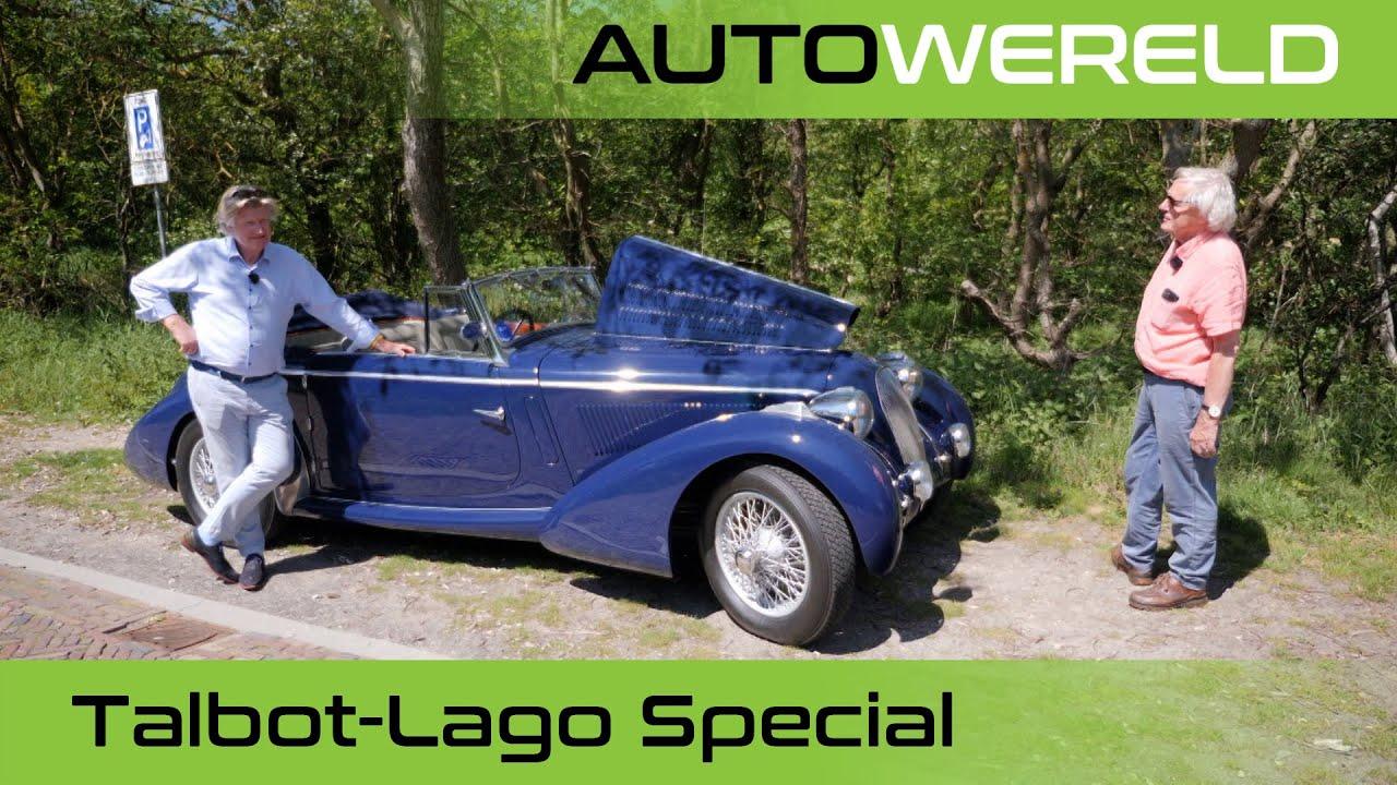 Van deze Talbot-Lago Special  bestaat er maar één! | Nico Aaldering