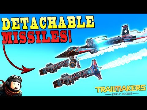 *SUMMER UPDATE* NEW DETACHABLE BLOCK and DISPENSERS?- Trailmakers Early Access Gameplay Ep36