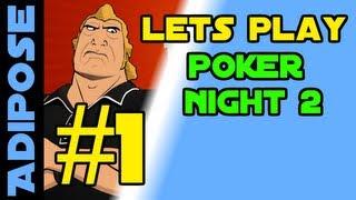 Lets Play Poker Night 2  - Borderlands 2 Unlockables - Texas Hold 'em - Part 1