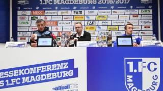 Pressekonferenz: FCM - Kiel