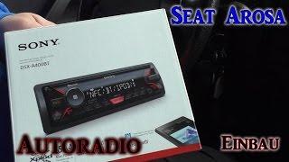 Seat Arosa Autoradio wechseln VLOG#5 | HD+ | Deutsch