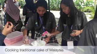 preview picture of video 'AYVP2018 - Cooking Traditional Malaysian Food'