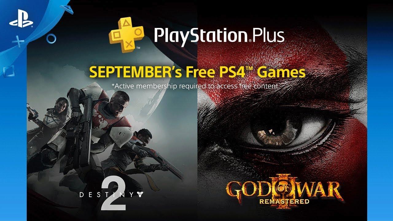 PlayStation Plus: Juegos Gratis para septiembre de 2018