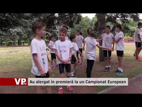 Au alergat în premieră la un Campionat European