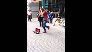 taksim beyoglu istanbul 3.6.2014 kemence