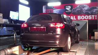 www.chiptuning.tv Audi A3 140PS 320NM auf 172PS 383NM by Reichert Racing