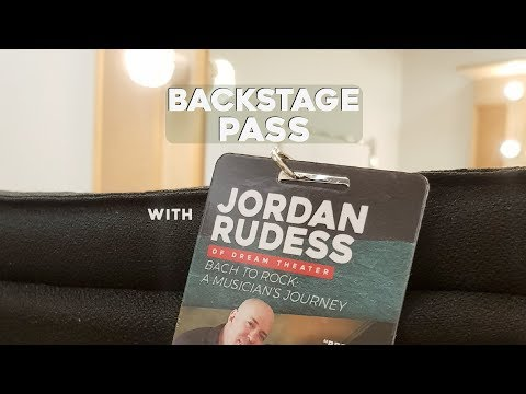 Jordan Rudess - Backstage Pass with City Music (UCC Theatre)