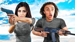 COUPLE vs. 98 ZOMBIES! (PlayerUnknown's BattleGrounds / PUBG Funny Moments) | Kholo.pk
