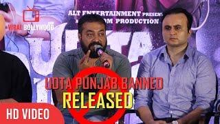 Anurag Kashyap Full Speech  Udta Punjab Censor Certification Passed  Press Conference