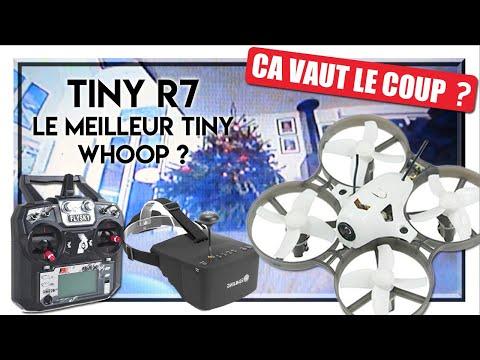 ÇA VAUT LE COUP ? Tiny R7 - Unboxing et Test Du Meilleur Tiny Whoop Banggood !