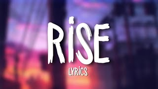 Jonas Blue   Rise Ft. Jack & Jack (Lyrics  Lyric Video)
