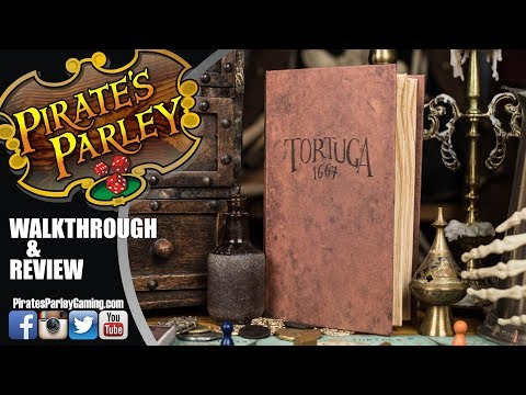 Tortuga1667 (2 player version) - A Pirate's Parley Review & Walkthrough