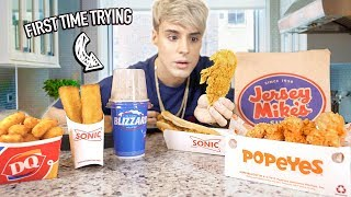 I Tested American FAST FOODS I Never Heard Of BEFORE 2