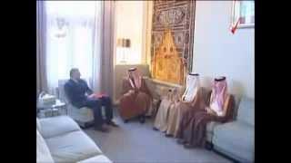 preview picture of video 'سمو ولي العهد يستقبل السفير الليبي لدى المملكة'